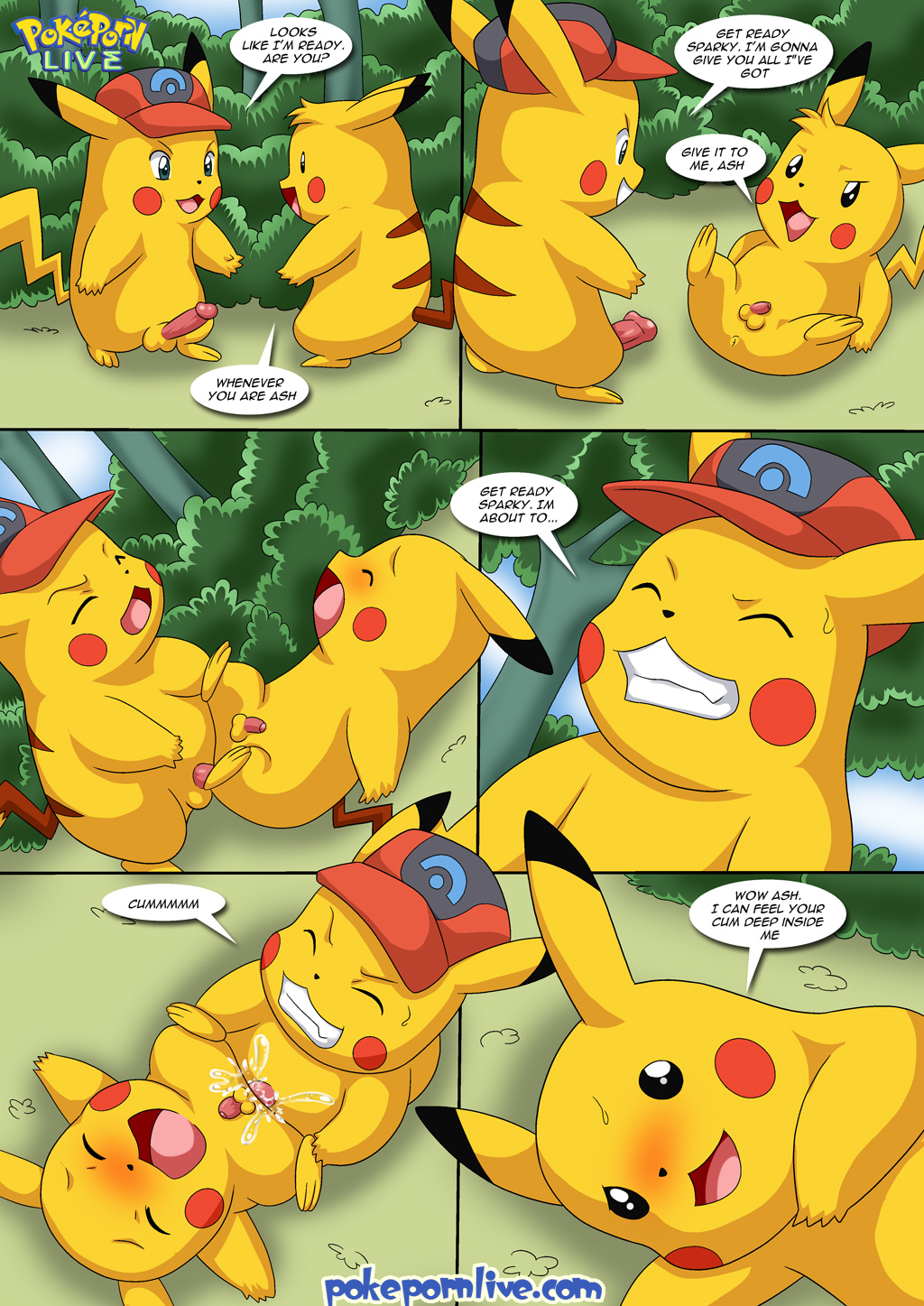 Ash and pikachu sex