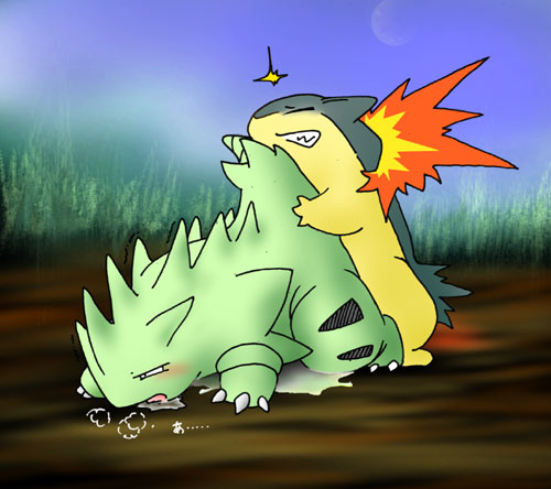 The home page of typhlosion and tyranitar sex