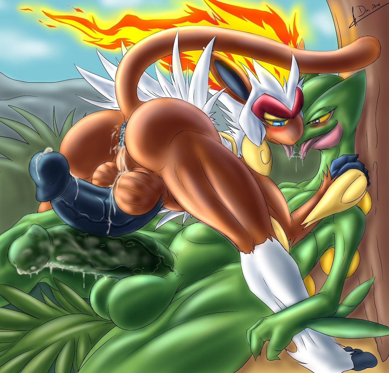 Pokemon infernape gay porn