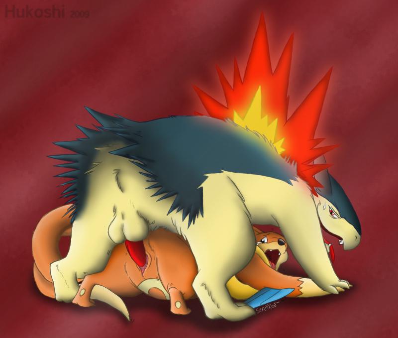 Pokemon sex typhlosion and tyranitar