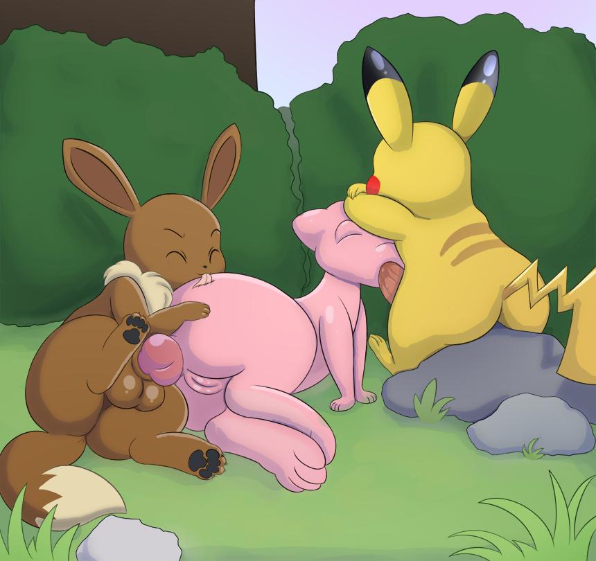 x porn Pikachu eevee